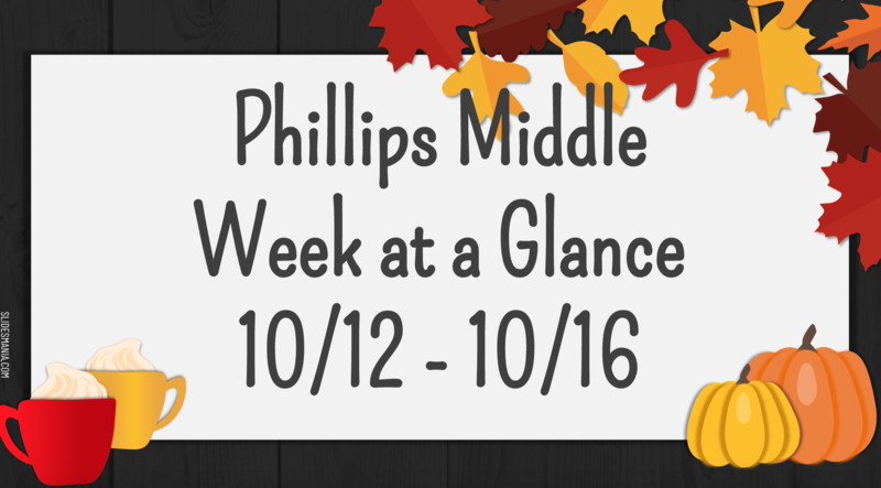 Week at a Glance: Week of October 12, 2020 Featured Photo