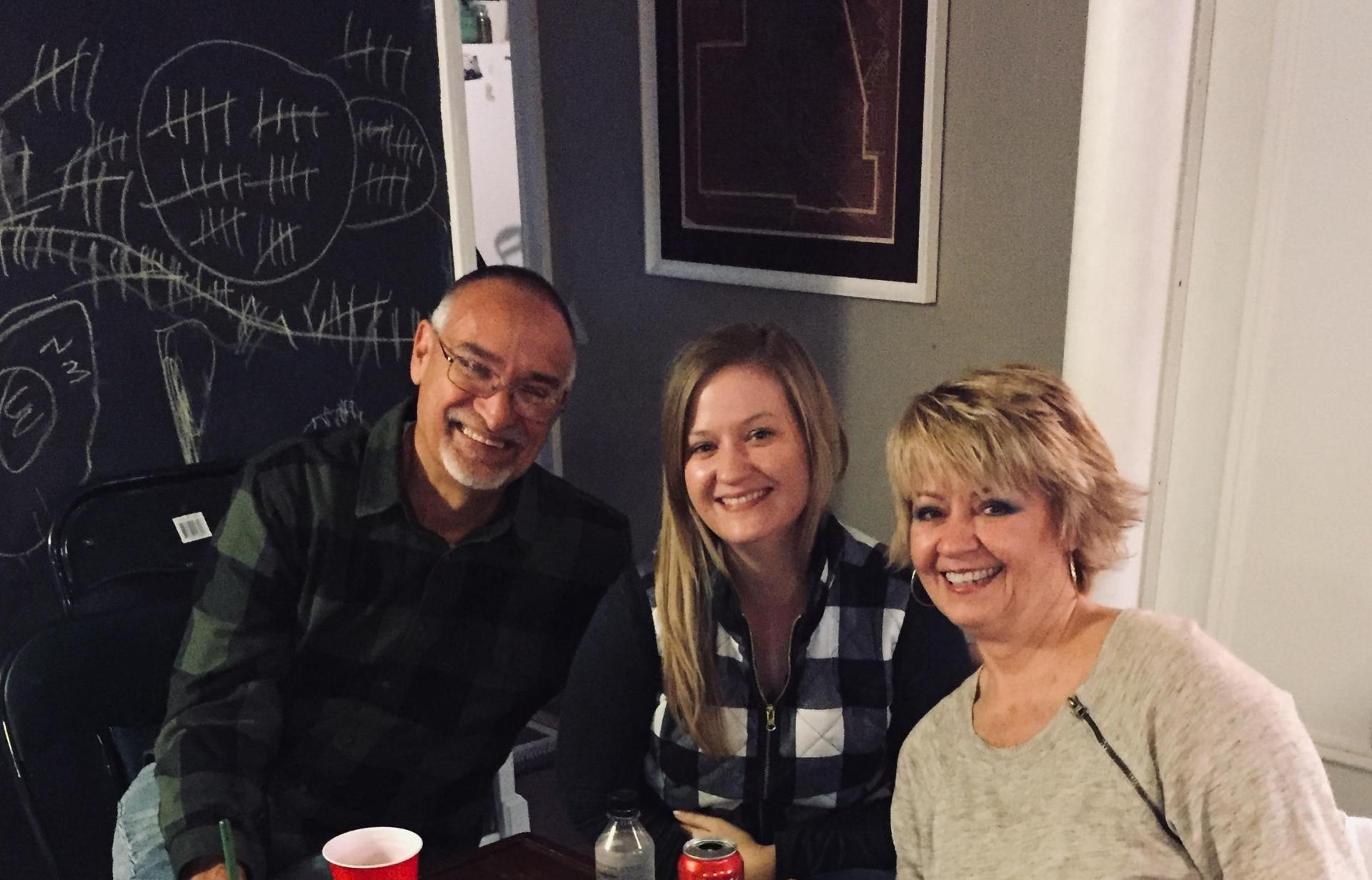 My parents and I