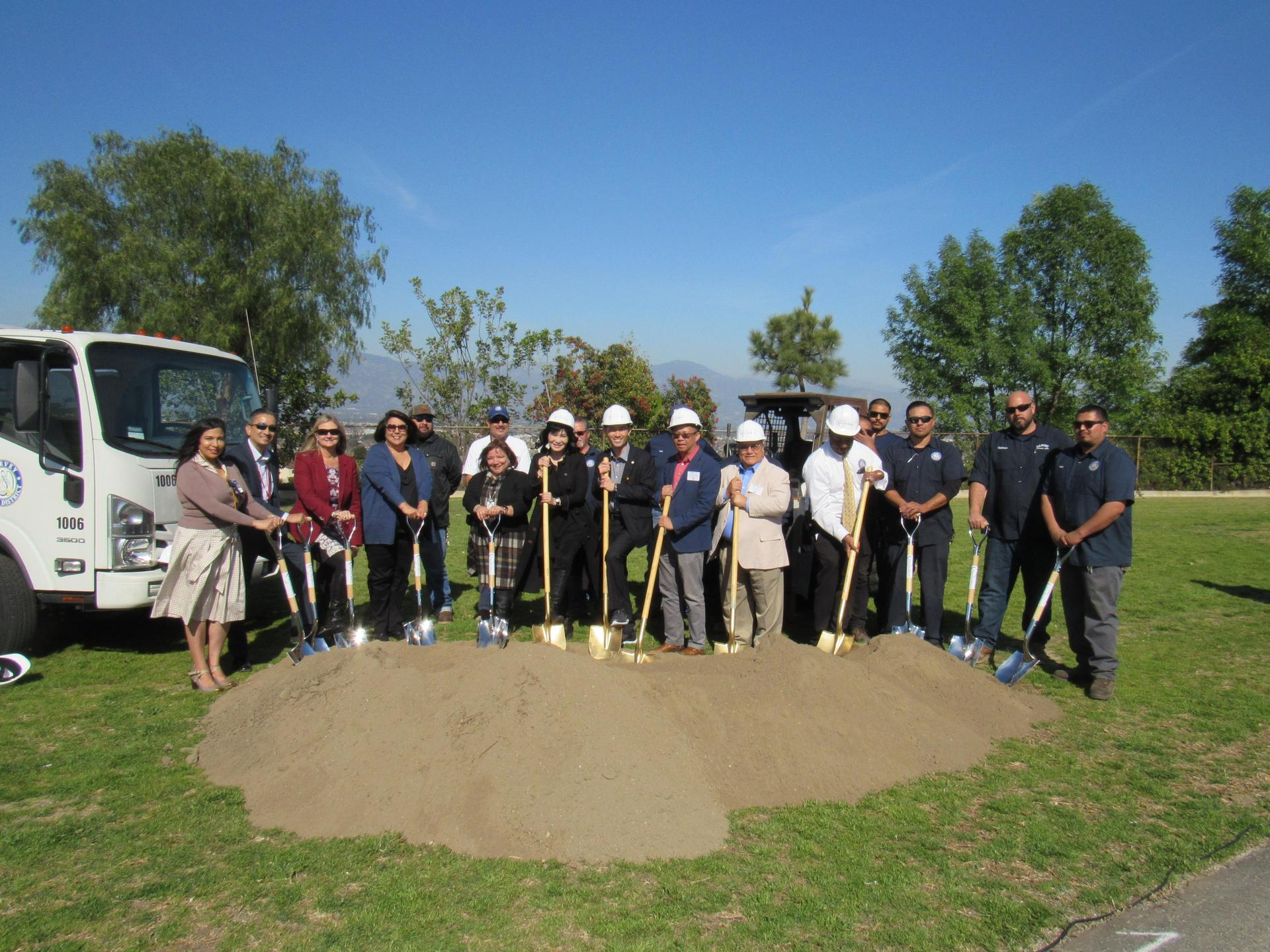 2.12.2020 GSD Solar Project Groundbreaking Ceremony