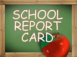 Image of school report card