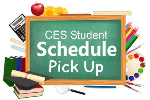 CES Student Schedule Pick Up Info Featured Photo