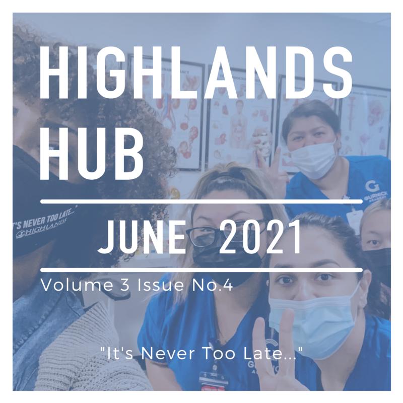 Highlands Hub June 2021 Volume 3 Issue No. 4
