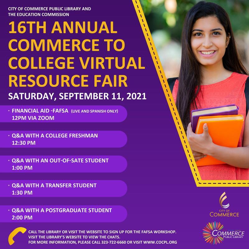 Commerce College Fair Flyer