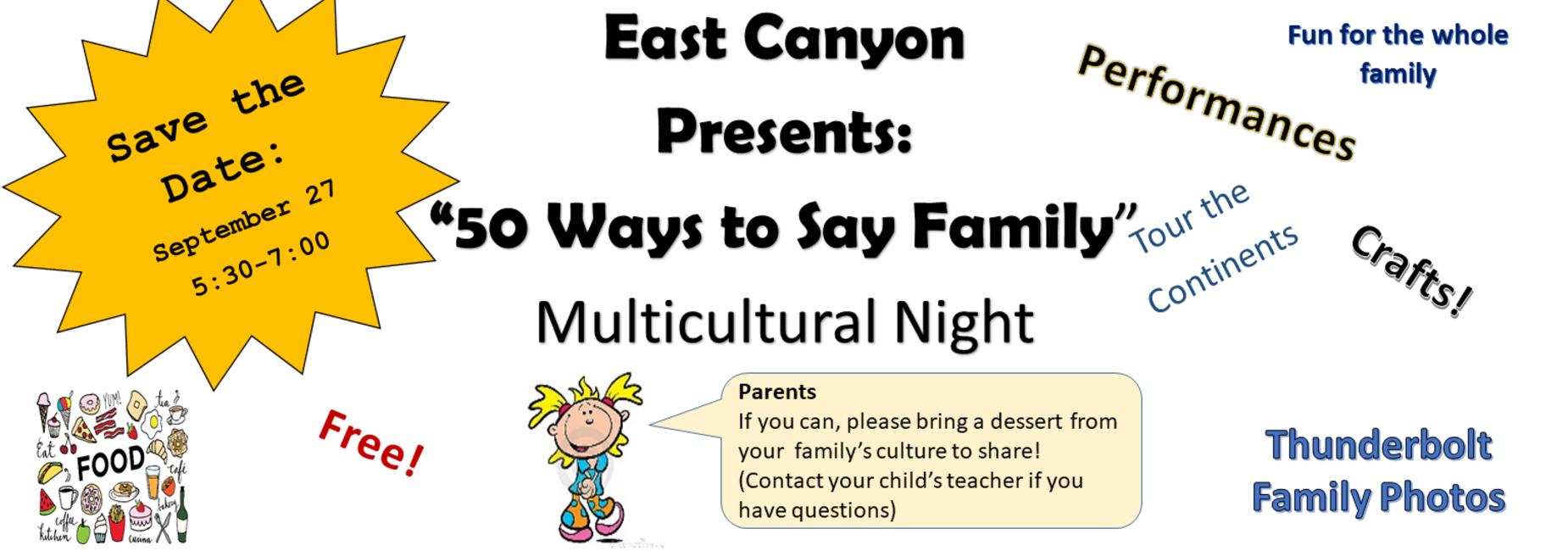 Multicultural Night