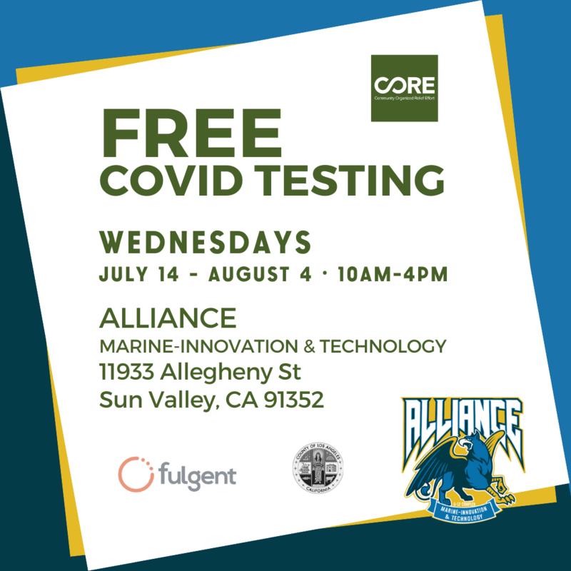 Free Covid Testing! Thumbnail Image