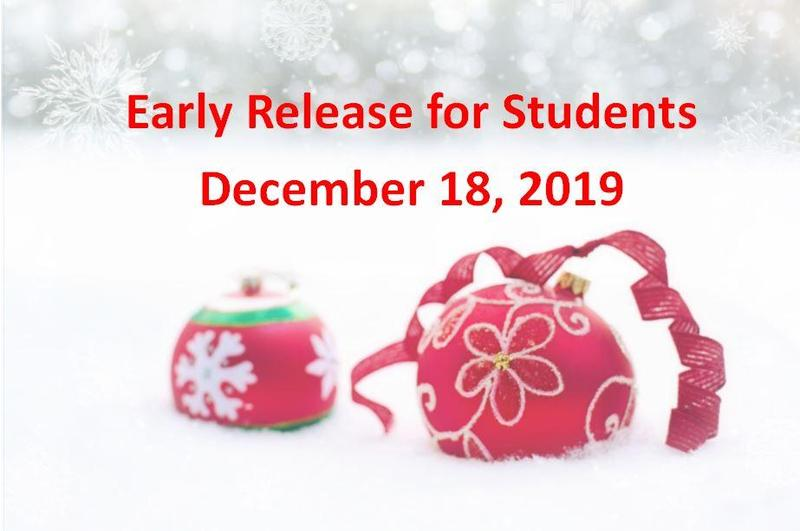Early Dismissal December 18, 2019 Featured Photo