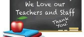 THANK YOU TEACHERS & STAFF Featured Photo