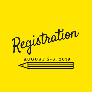 registration with pencil