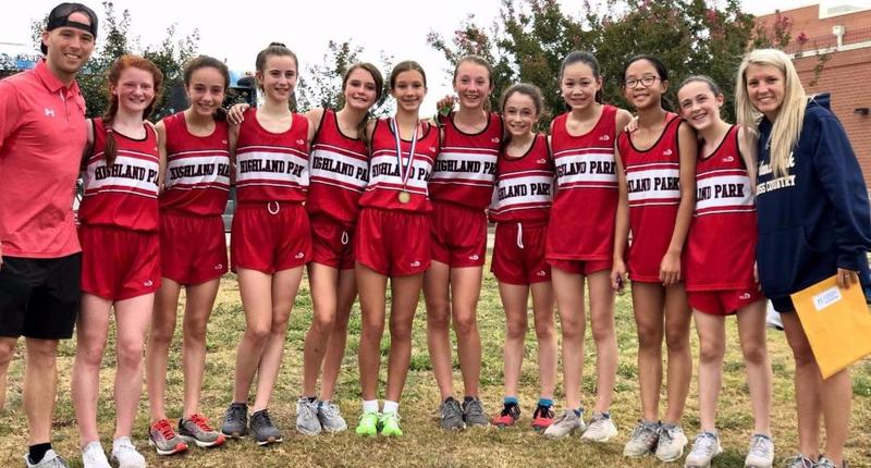 Lady Raiders cross country brings home District Championship Featured Photo