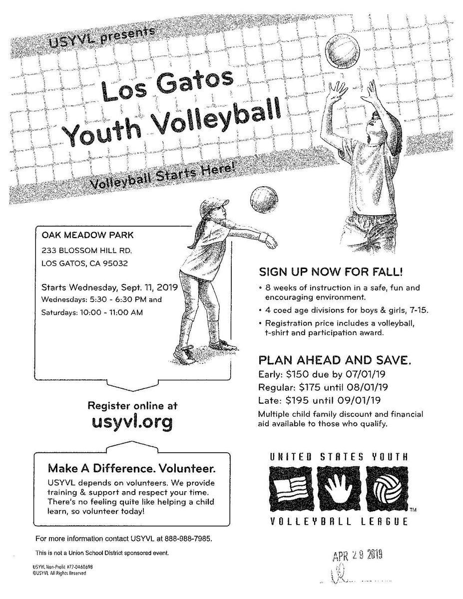 Los Gatos Youth Volleyball