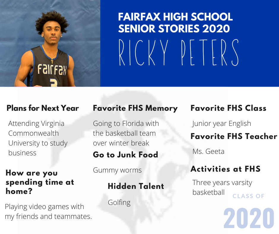 ricky peters photo and list of activities