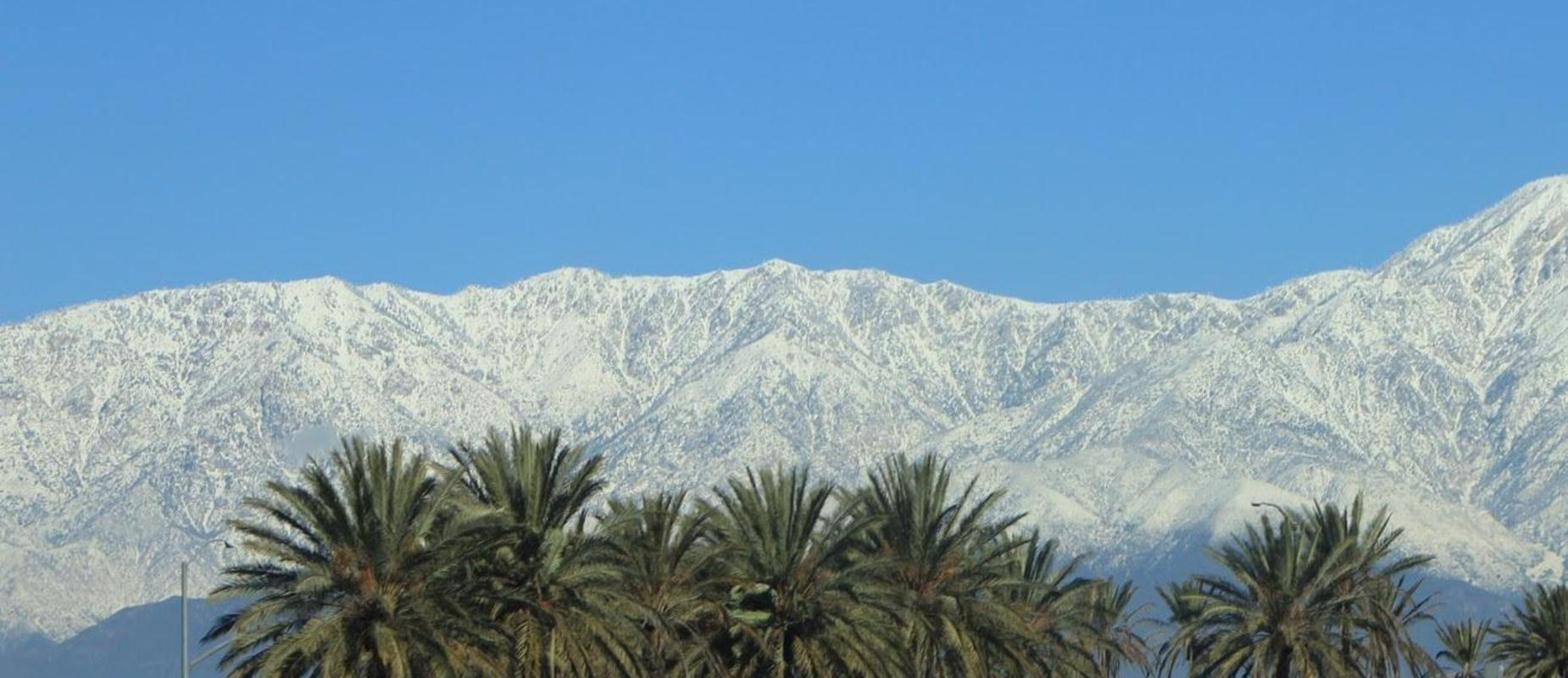 San Gabriel Valley Mountain Range