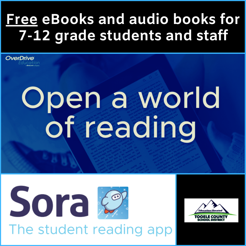 Sora app offers free eBooks and audiobooks to secondary students and staff Thumbnail Image