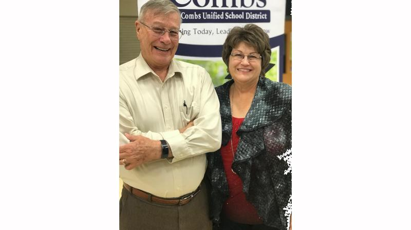 Dr. Kemp and Mrs. Bourgeous, Retiring Governing Board members