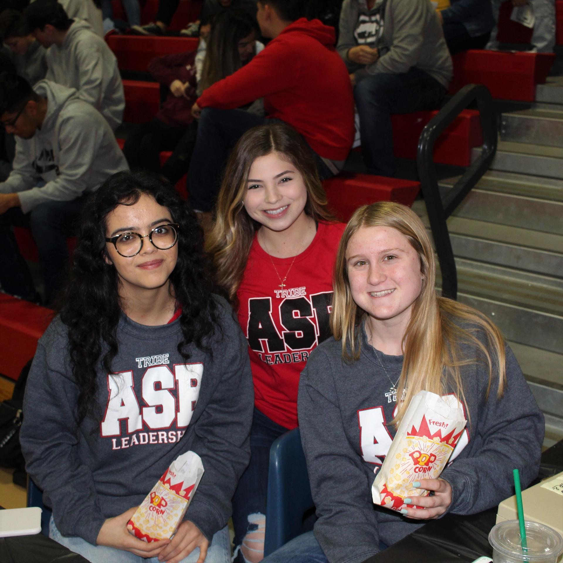 Samantha Donato, Judith Jimenez, and Kirsten Grissom