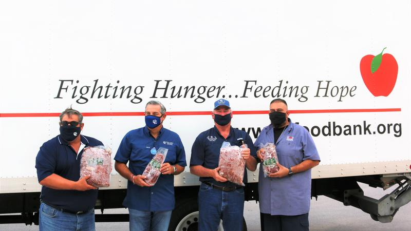 WGD Committee Members donate to SA Food Bank