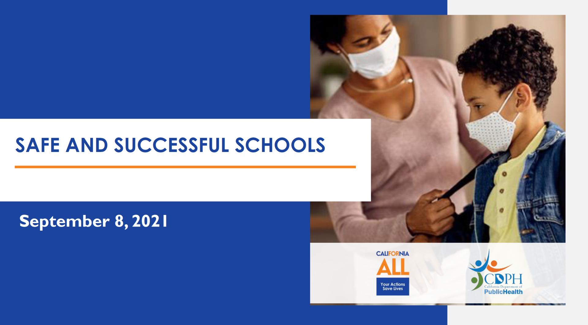 Safe and Successful School Presentation