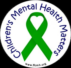 Children's Mental Health Matters Ribbon Image