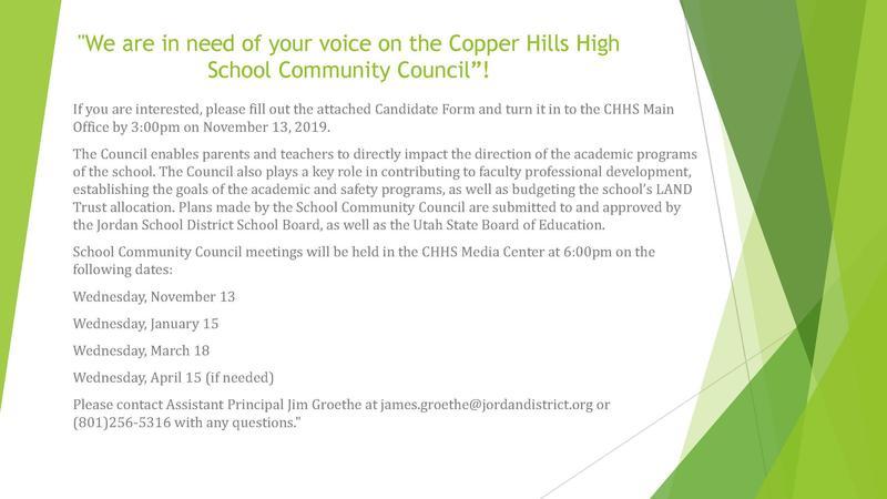 SCC Candidate form