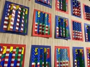 5th grade veteran art