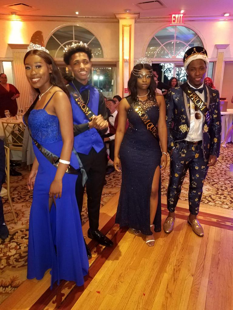 Prom Princess, Prom Prince, Prom Queen and Prom King