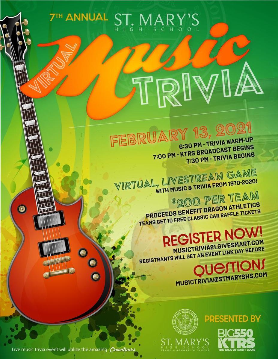 7th Annual Music Trivia Night