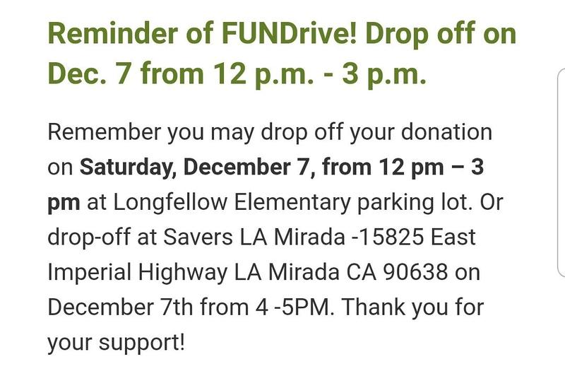 Donation location and time