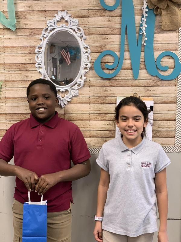5th Grade Students of the Month