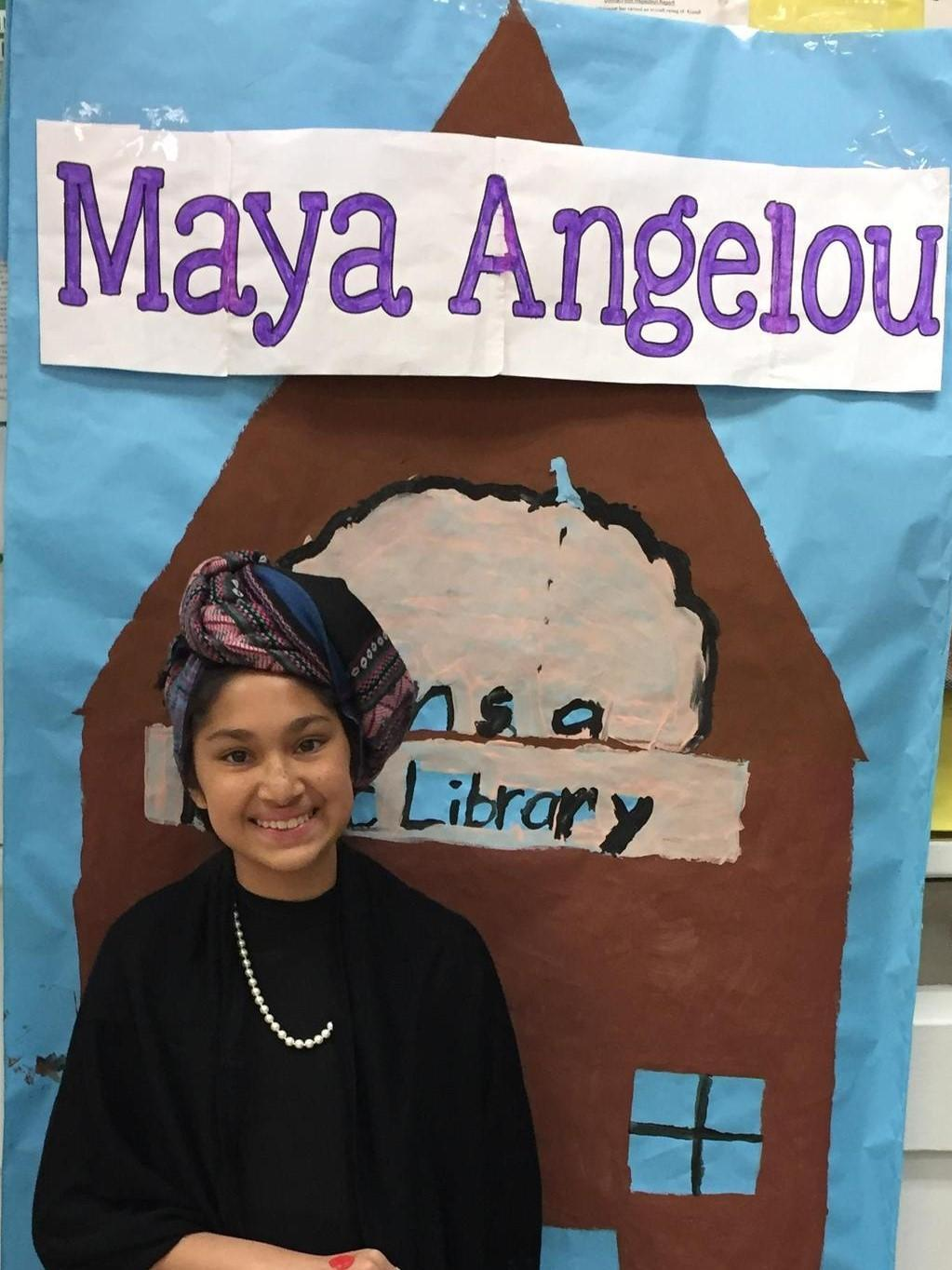 Maya Angelou Wax Museum