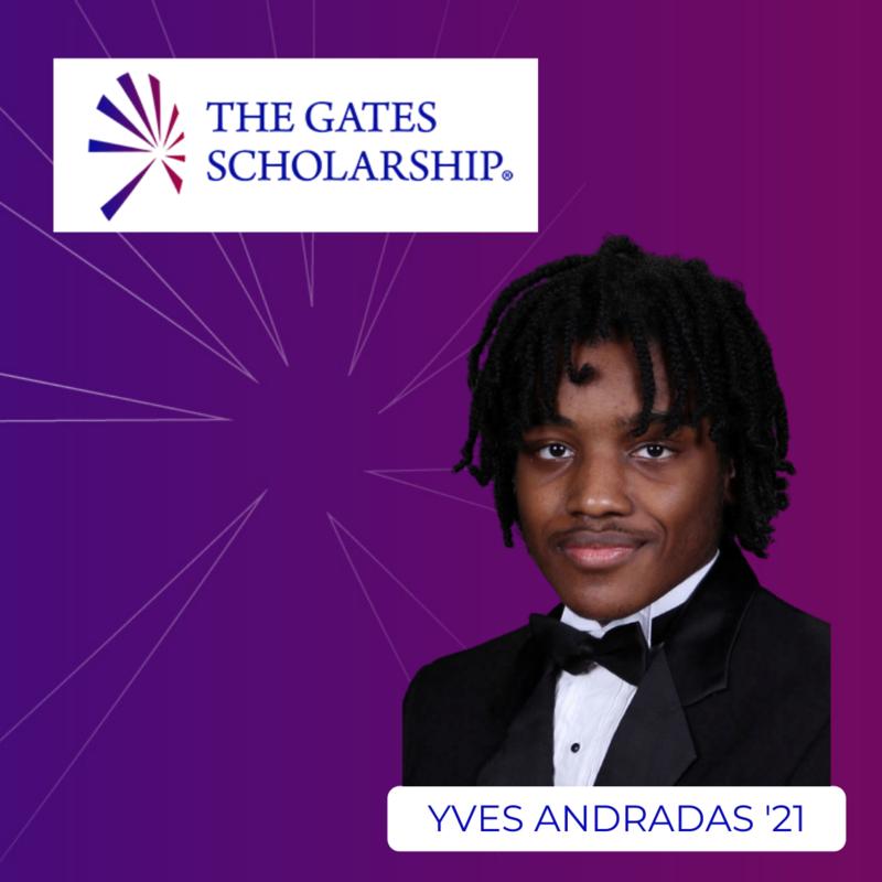 Andradas '21 Named Gates Scholar Featured Photo
