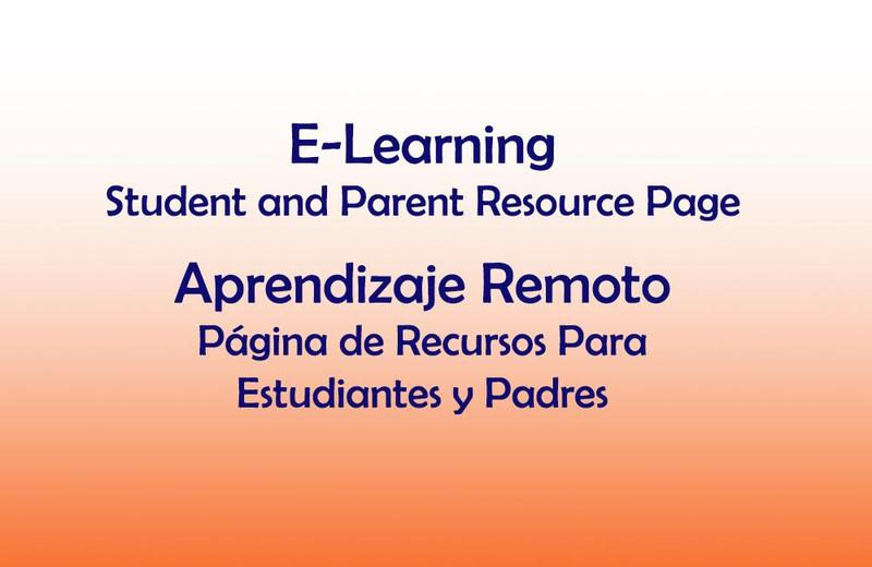 STUDENT & PARENT RESOURCE PAGE / PÁGINA DE RECURSOS PARA ESTUDIANTES Y PADRES Thumbnail Image
