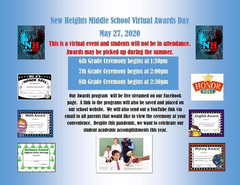 NHMS Virtual Awards Day - May 27, 2020 Featured Photo