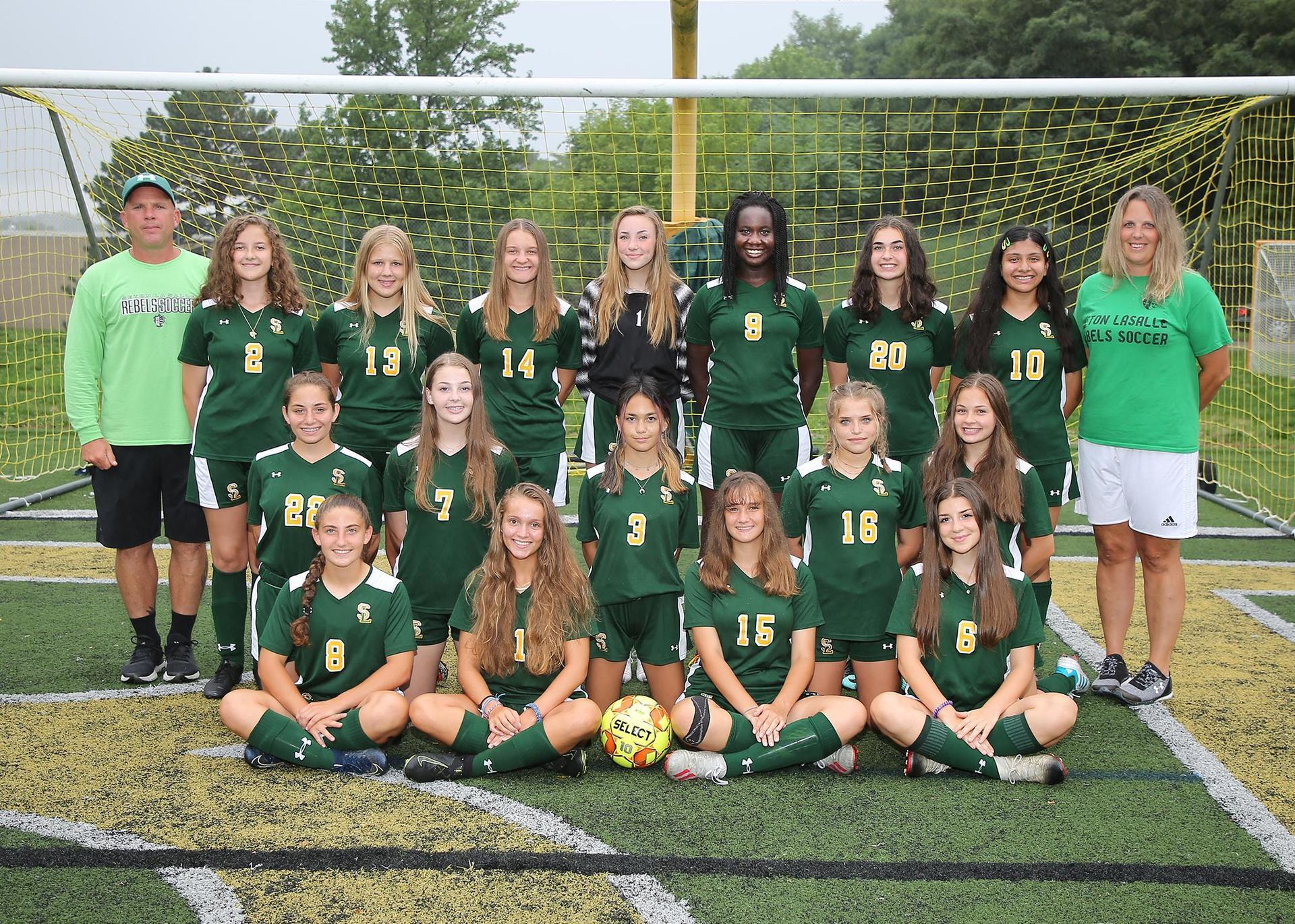 2020-21 Girls Soccer team