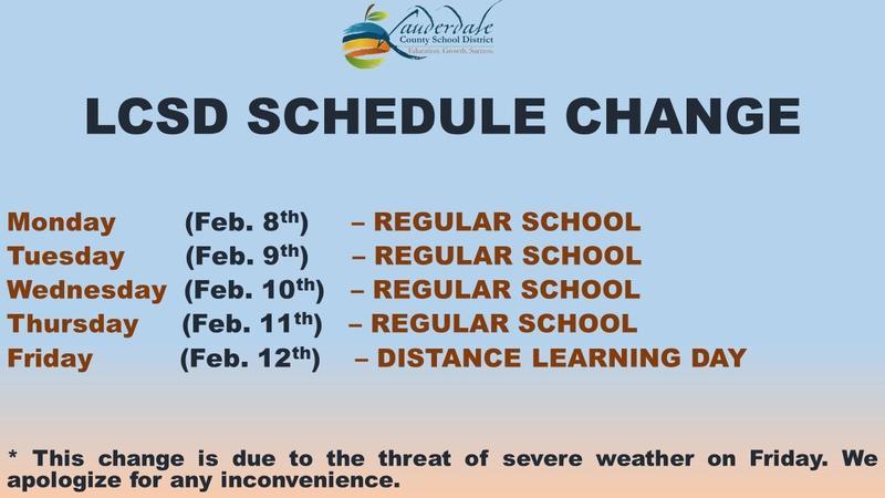 LCSD Calendar Change