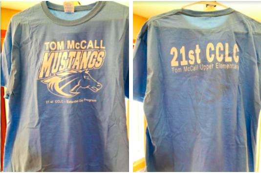 CLC Attendance Reward shirts image