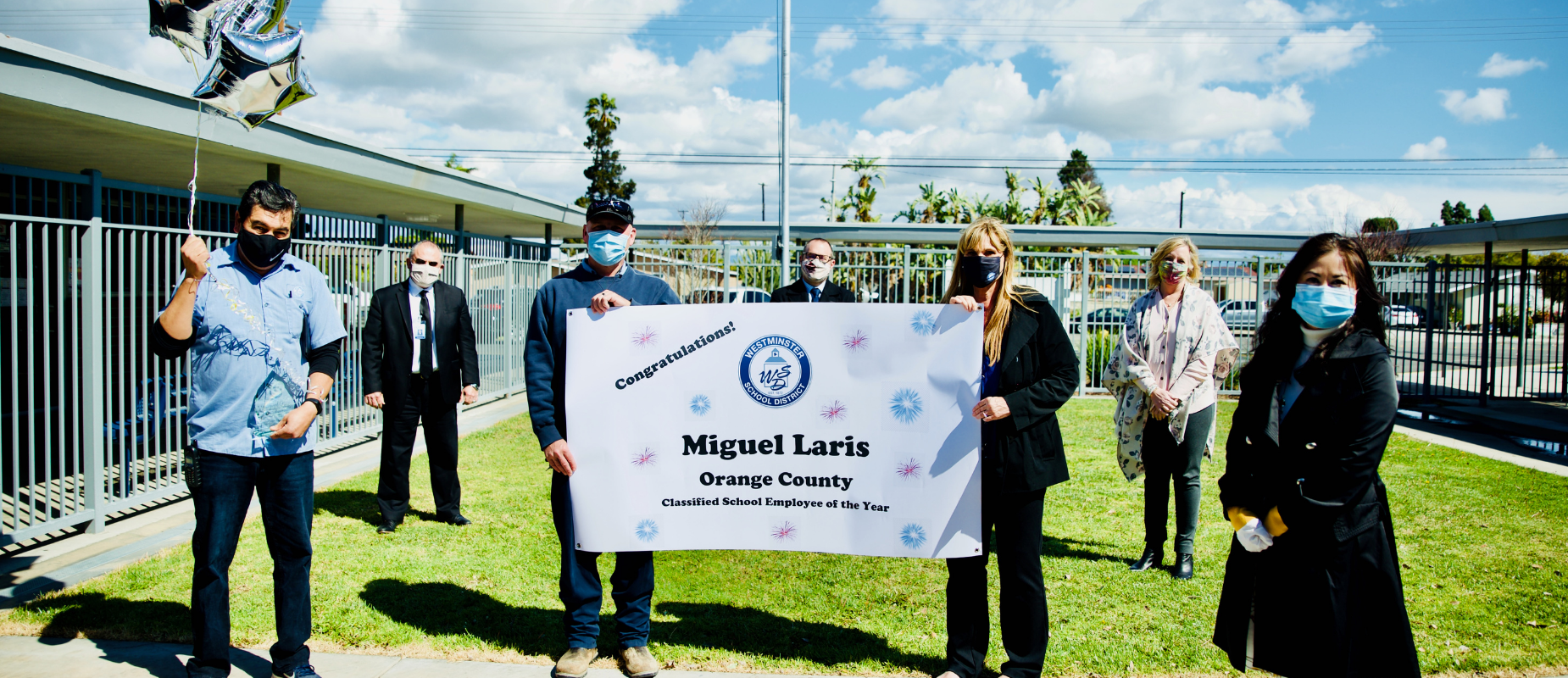 Miguel Laris Orange County Classified Employee of the Year
