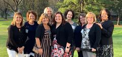 photo of 9 teachers who are nominees for an award