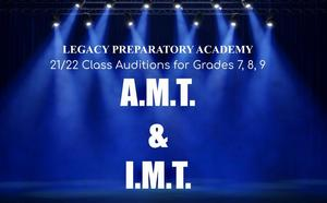AMT 21/22 Auditions