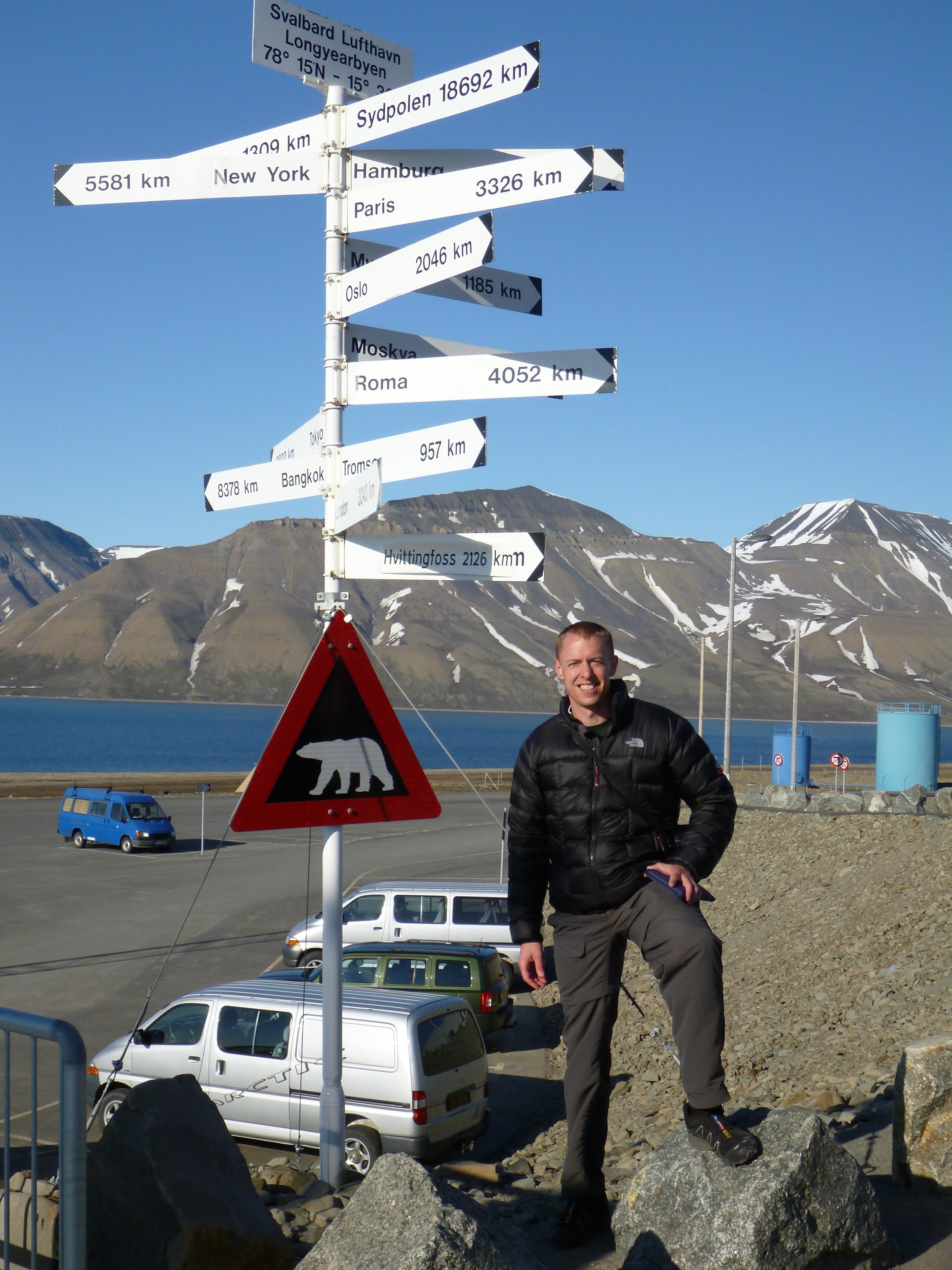 Longyearbyen, Svalbard, 78°N