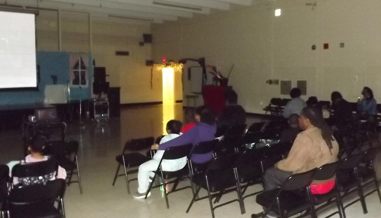 Photo of PRAMS Family Movie Night – Fun in pajamas, movie watching celebration.