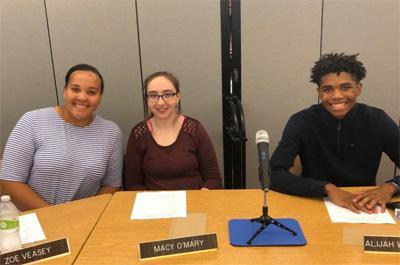 student board of education members