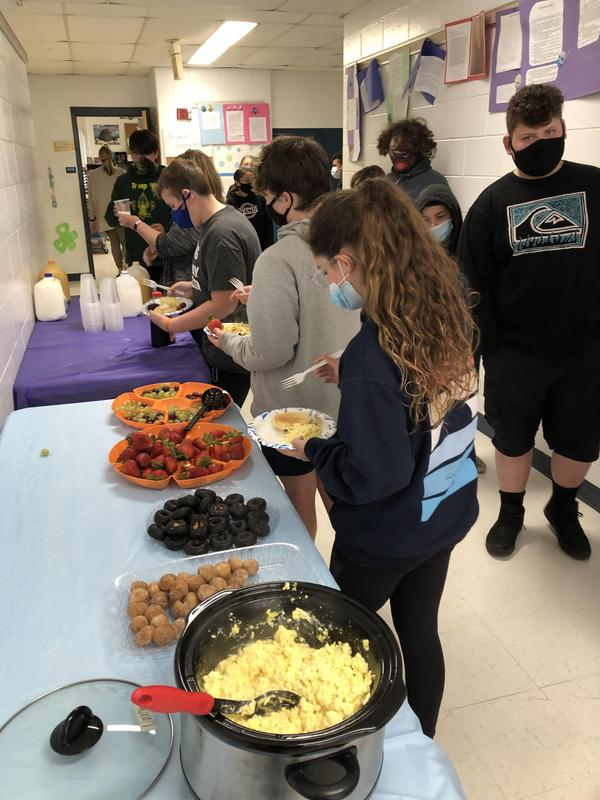 6th Grade Literary Celebration Breakfast Thumbnail Image