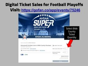 Online Tickets for BCHS Football vs. Briarwood Graphic