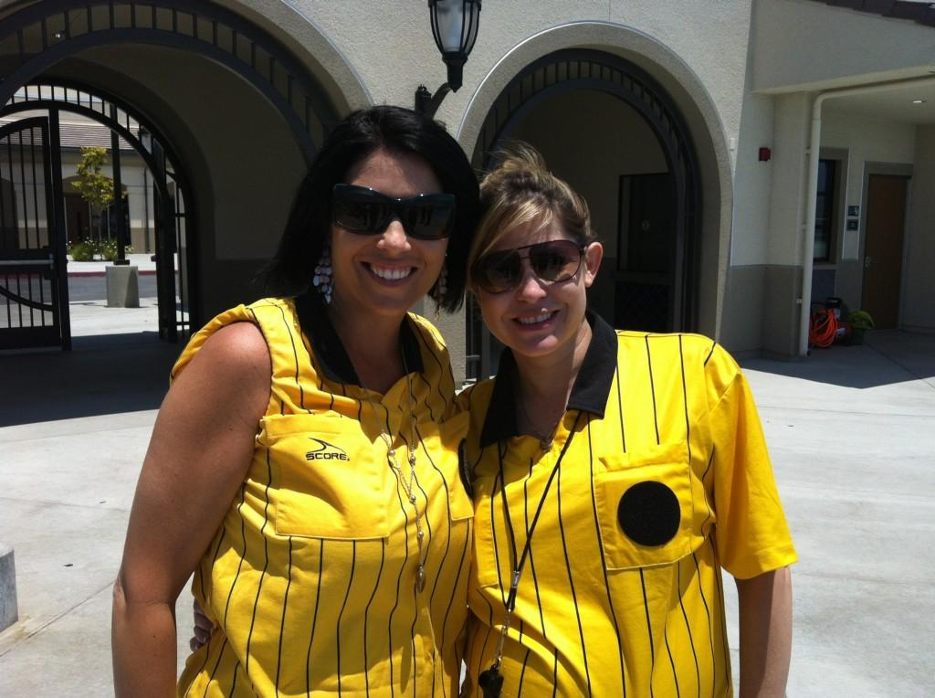 Mrs Runge and Mrs Mazurier