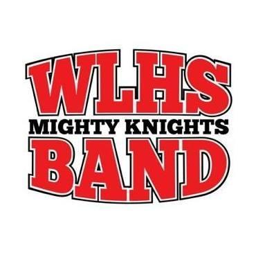 band logo for mighty knights band