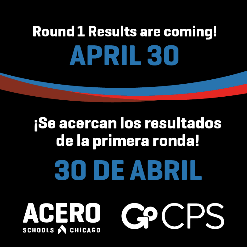 Round 1 Results are coming! April 30 - ¡Se acercan los resultados de la primera ronda! 30 de Abril