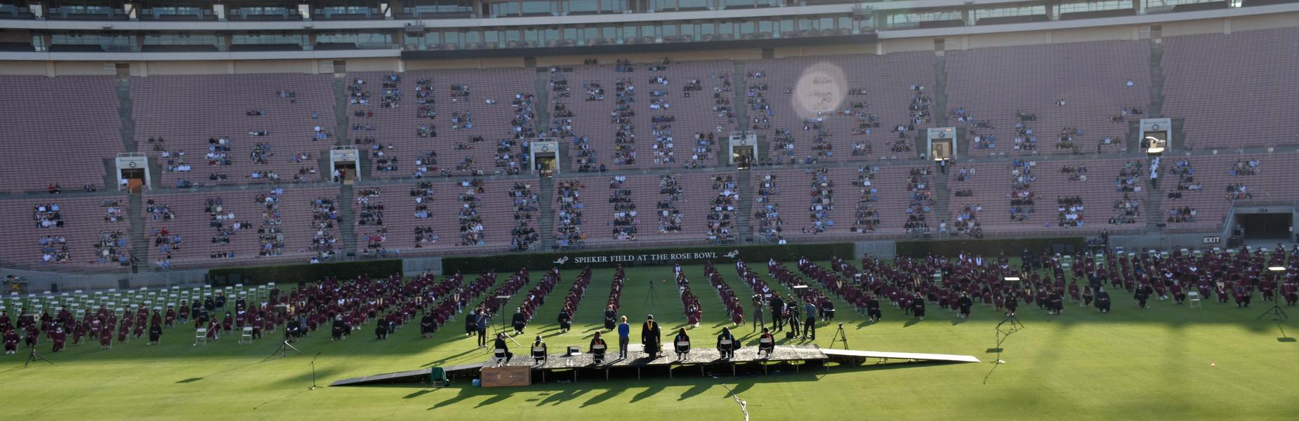 MKHS 2021 Graduation Ceremony at the Rose Bowl