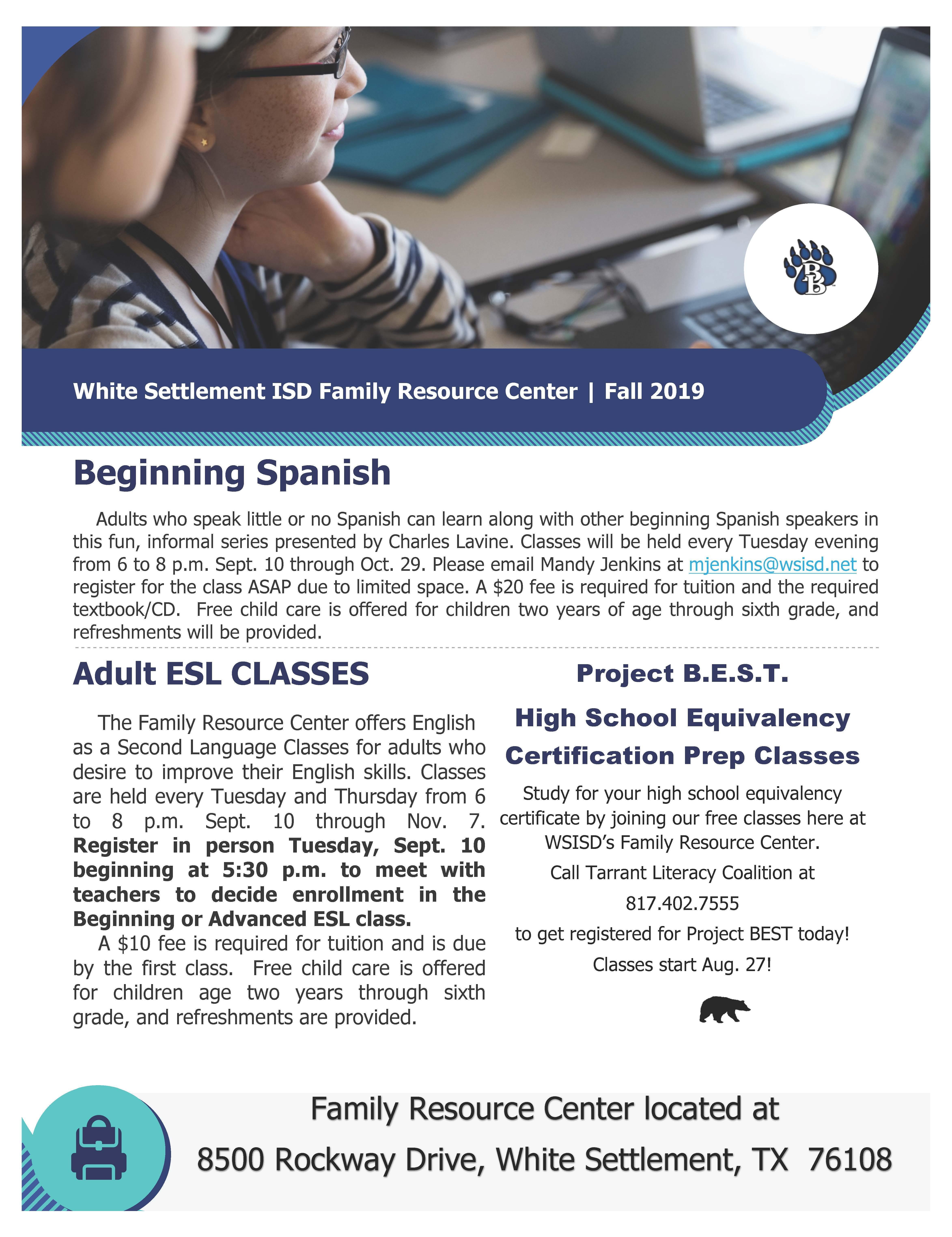 Family Resource Center Newsletter