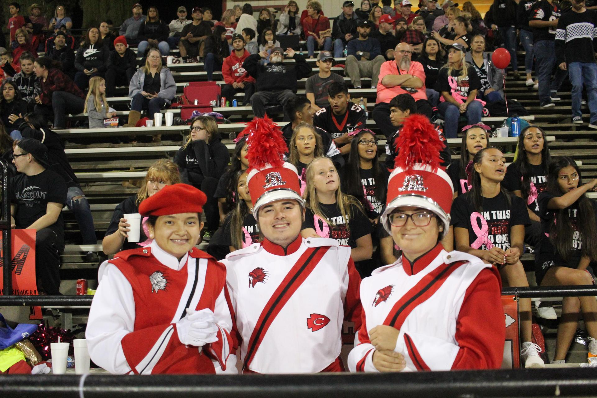 Tribe Band at the Game