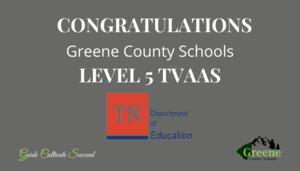GCS Achieves Level 5 TVAAS